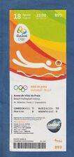 ORIG. ticket juegos olímpicos de río de janeiro 2016 Beach voley Finale hombres
