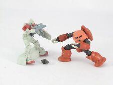 Gundam Gashapon S.O.G 1/300 Series MSM-07S Char's Z'Gok vs RGM-79 GM
