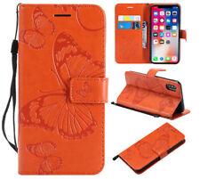 Leather Flip Wallet Phone Case Cover For Huawei Y5 Y6 Y9 2018 Honor 7C 10 Lite