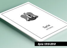 PRINTED SYRIA 1919-2010 STAMP ALBUM PAGES (257 pages)