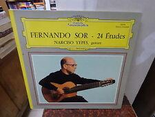 Narciso Yepes, guitare : Fernando Sor - 24 études - Deutsche grammophon 139 364