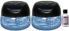 2 Air Purifiers with Rainbow Rainmate Lavender Fragrance for Asthma & Allergies