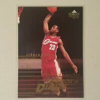 LeBron James RC Diary Card 2003-2004 Upper Deck #LJ15 GEM Cavaliers