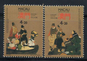 Macao 1991 Mi. 684-85 Neuf ** 100% Culture, Art