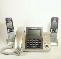 Panasonic KX-TGF350N Corded/Cordless Dect Handset Landline Telephone