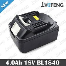 For Makita BL1840 BL1830 BL1850 Li-Ion Battery 18 Volt; 4.0 Ah 100% NEW