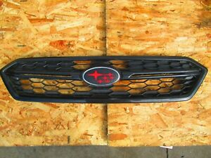 SU1200160 Front Replacement Grille for 15-17 Subaru WRX