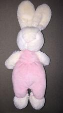 Little Jellycat Bunny Rabbit Soft Toy Comforter Pink & White  30cm