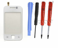Samsung S5360 Galaxy Y LCD Touch Screen Digitizer Front Glas Panel White + Tools