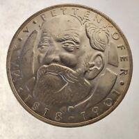 Uncirculated Germany 5 Deutsche Mark (Max Pettenkofe) 1968 Silver