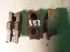 3 Backen Blockbacken Aufsatzbacken f. Dreibackenfutter Drehmaschinenfutter #0383