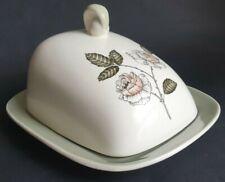 Vintage Crown Devon 'Rose Design' Cheese Dish
