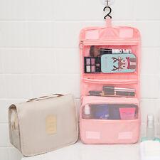 Hanging Travel Toiletry Wash Bag Folding Carry Men Women Cosmetics Bag Organizer