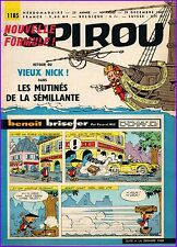 ▬► Spirou Hebdo n°1185 du 29 décembre 1960