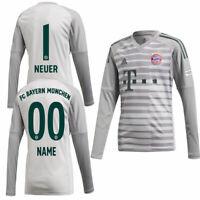 Adidas FCB FC Bayern München Heim Torwarttrikot 2018 2019 Spieler Name