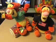 Disney lot of 2 plush Tiggers