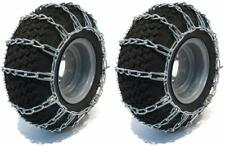 15X6-6 TIRE CHAINS, 2 LINK FOR JOHN DEERE D, L, LT, LTR, STX SERIES LAWN MOWERS
