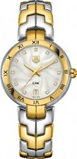Tag Heuer Link Lady Diamond 18 KT Gold and Stainless Steel Ladies Watch Wat1350.