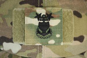 USCG US COAST GUARD I/A MULTICAM OCP E-9 HOOK BACK CAMOUFLAGE CAMO UNIFORM RANK