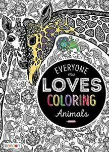 Adult Everyone One Loves Coloring~Animals~Birds~Flowers~Patterns~Cats/Dogs-Books