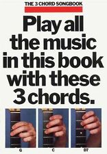 3 Chord Song Bk 1 Guitar (Songbook), Good Condition Book, , ISBN 9780860019817