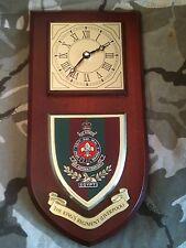 Kings Regiment Liverpool Regimental Military Wall Plaque & Clock