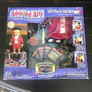 2001 Amazing Ally Playmates Interactive Doll Let's Play In-line Skating New