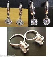 Surgical Steel Clip- on Hoop Sleeper Hoops / Sleepers / Earrings / Earring