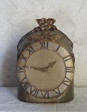 Horloge en grès création Arts Ceram