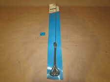 TRW Antenna Mast 611633 Ford Mercury 1965+ Custom Black 1-Section Whip NOS