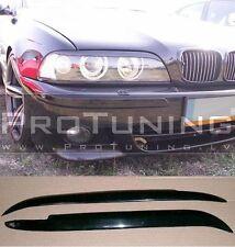 BMW 5 Serie e39 Augenbrauen Scheinwerfer Spoiler lightbrows Auge Deckel Steampunk Abdeckungen