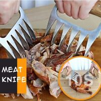 Bear Claws Barbecue Fork Tongs Pull Meat Shred Pork Clamp Roasting Fork BBQ  K