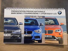 Dossier de presse BMW série 3 touring / série 1 3 portes/ X1 LCI – 2012