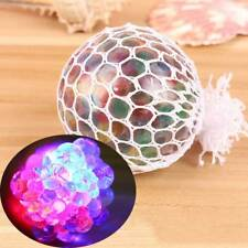 Mesh Squishy Ball Fruity Squeeze Grape Net Anti Stress Relief Reliever Kids Toys