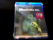 Monsters, Inc. 3 Disc Collector's Edition DVD and  Blu-ray New factory sealed
