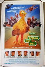 FOLLOW THAT BIRD Orig. (1985) 27x41 Movie Poster MUPPETS  ROLLED MINT CONDITION!