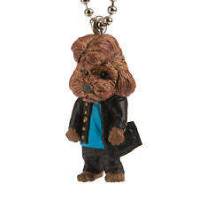 Dogs in School Uniforms Poodle Keychain