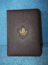 1980 Royal Canadian Mint  100 Dollar Gold Coin Case - Empty