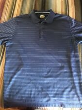 Arnold Palmer Blue Golf Polo Shirt Adult Large