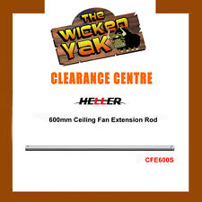 Heller 600mm Stainless Steel Ceiling Fan Extension Rod CFE600S-NEW