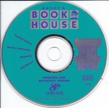 Bailey's Book House Pc Cd (Ages 3-7, early kids fun learn letters words story)