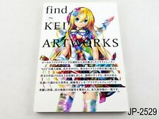 Kei Artworks 2 find Japanese Artbook Hatsune Miku Vocaloid Japan Book US Seller