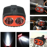 Mountain Bike Bicycle Cycle Cycling Front Head Light 2 LED Headlamp Torch Lamp