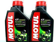 2x 1 Litro Motul 5100 10w40 ACEITE DE MOTOR PARA 4-takt 10w-40