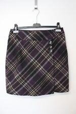 Damen Rock skirt gemustert schwarz braun ESPRIT in Größe 36  M
