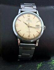 TISSOT cal.803  SEASTAR VISODATE 50th VINTAGE 17J  RARE SWISS WATCH.