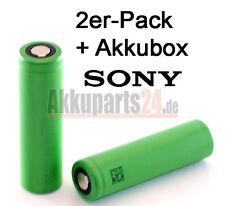 2er-Pack Sony US18650VTC4 3,6V / 2100mAh Li-Ion-Zelle inkl. Akkubox