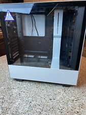 NZXT CA-H510i-W1 Compact ATX Mid-Tower Gaming Case - Matte White