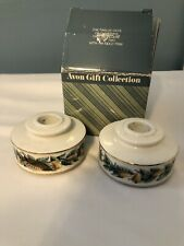 12 Days Of Christmas Candle Holders 14kt Gold Trim
