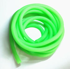 6 Feet Glow Fluorescent Colors Latex tubing Lure Fishing Hook Tube jig